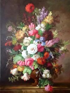 schilderij front aanzicht